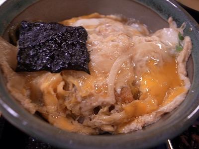 野村 カツ丼 孫膳 卵とじ