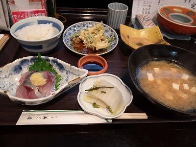 美禄 魚定食