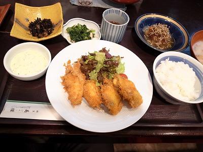 美禄 牡蠣フライ定食