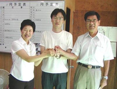 原水禁世界大会の韓国参加者と交流