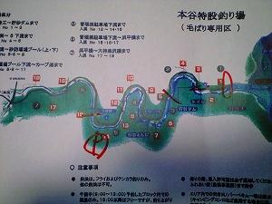 入る場所の地図