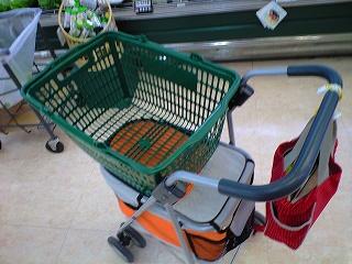 スーパーの中での様子