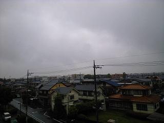 また、雨が・・・