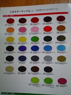カラーが、いっぱい(≧▽≦;)