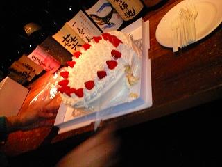 ビックサイズのケーキ