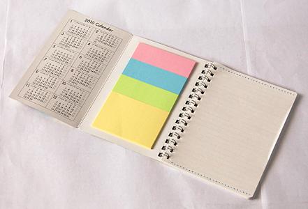 メモ帳タイプ カレンダー2010
