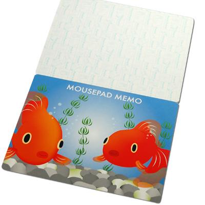 メモ帳ノート付マウスパット