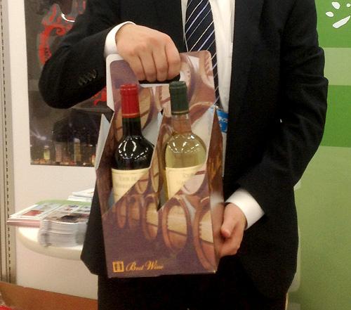 ワインを入れるケース