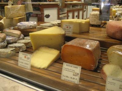 Lyon les halles fromage