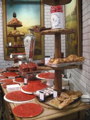 Lyon les halles tarte praline