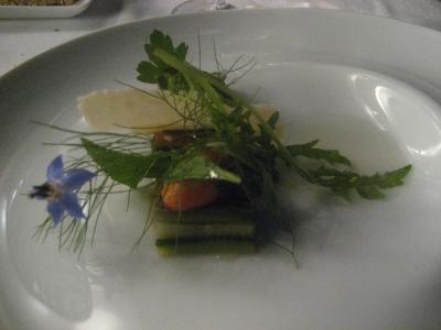 アトモスフェール料理
