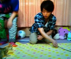櫻井翔と小動物