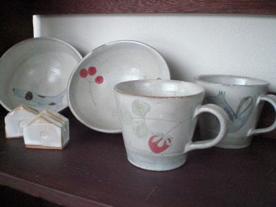 カップとお茶碗