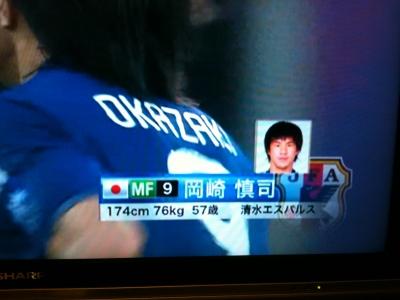 岡崎慎司57歳