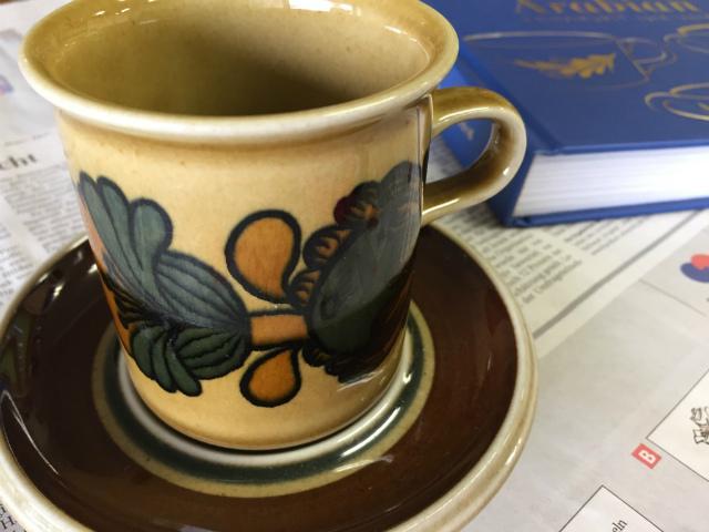 アラビア コーヒーカップ ソーサー オツオア