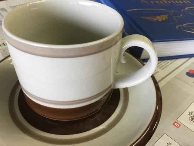 アラビア コーヒーカップ ソーサー ピルティ