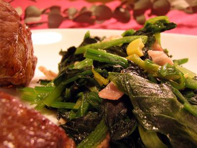 バタリア菜のソテー