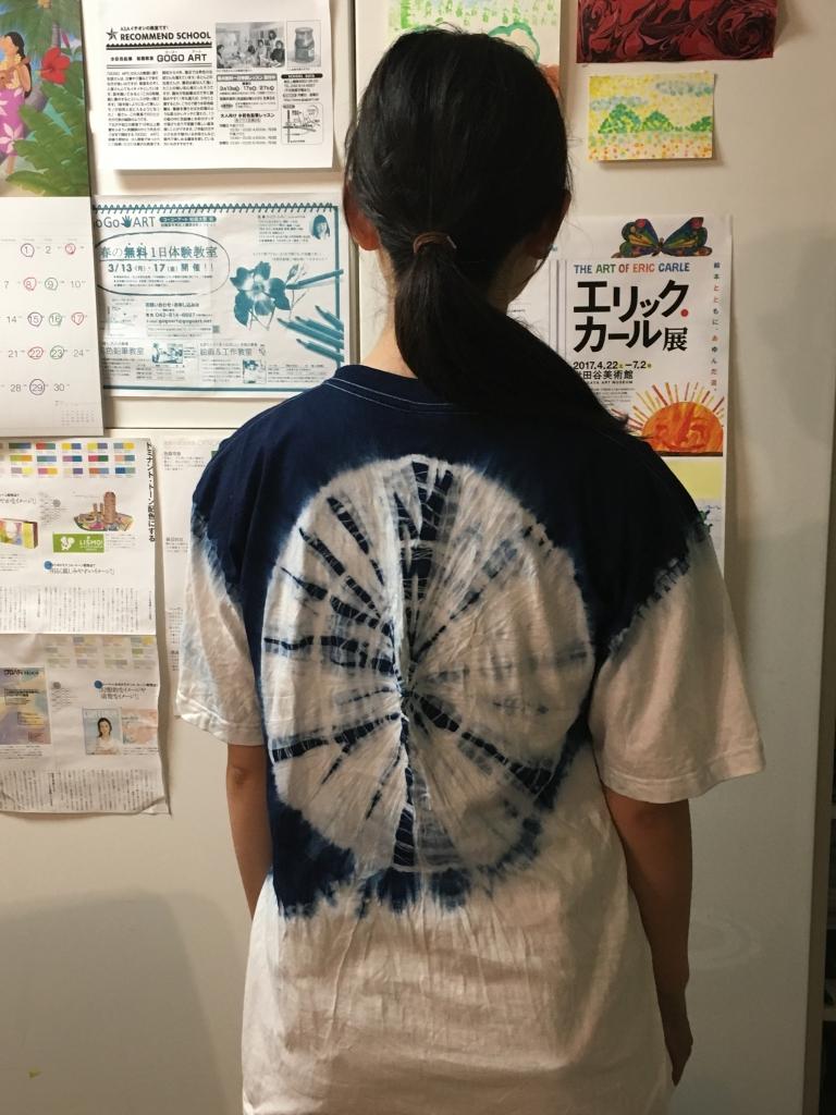 藍染大人Tシャツ後ろ