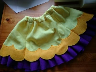 スカート完成
