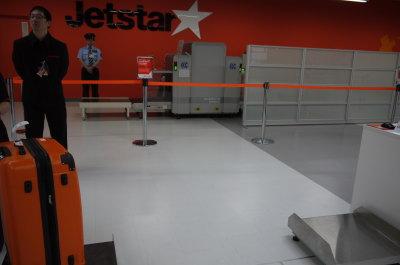ジェットスター成田空港第二ターミナルカウンター