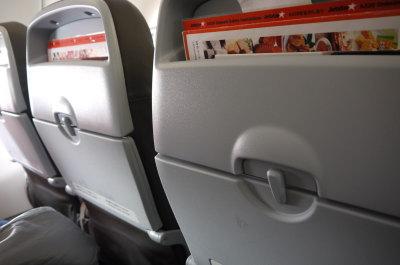 ジェットスター飛行機内画像