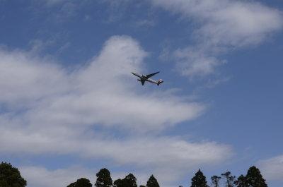 成田空港飛行機画像