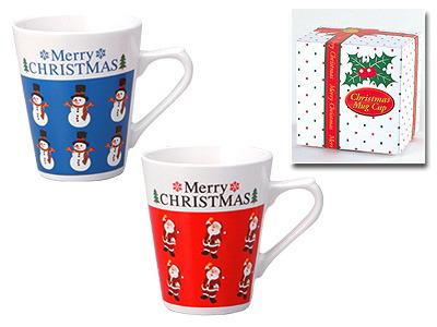 クリスマスマグカップ画像