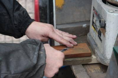トリマートリミングハサミ研ぎ画像