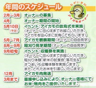 アイガモ農法オーナー募集in千葉県長生村画像