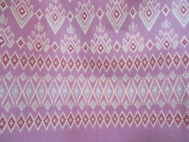 カンボジア布模様