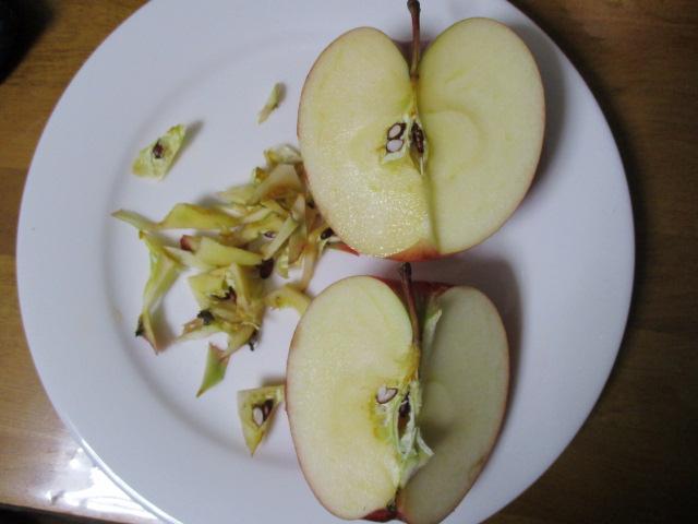 リンゴ残り