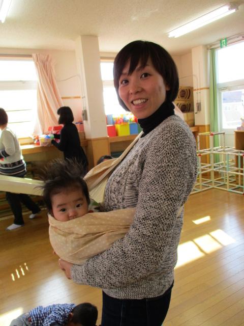 坂田さん母娘お試し