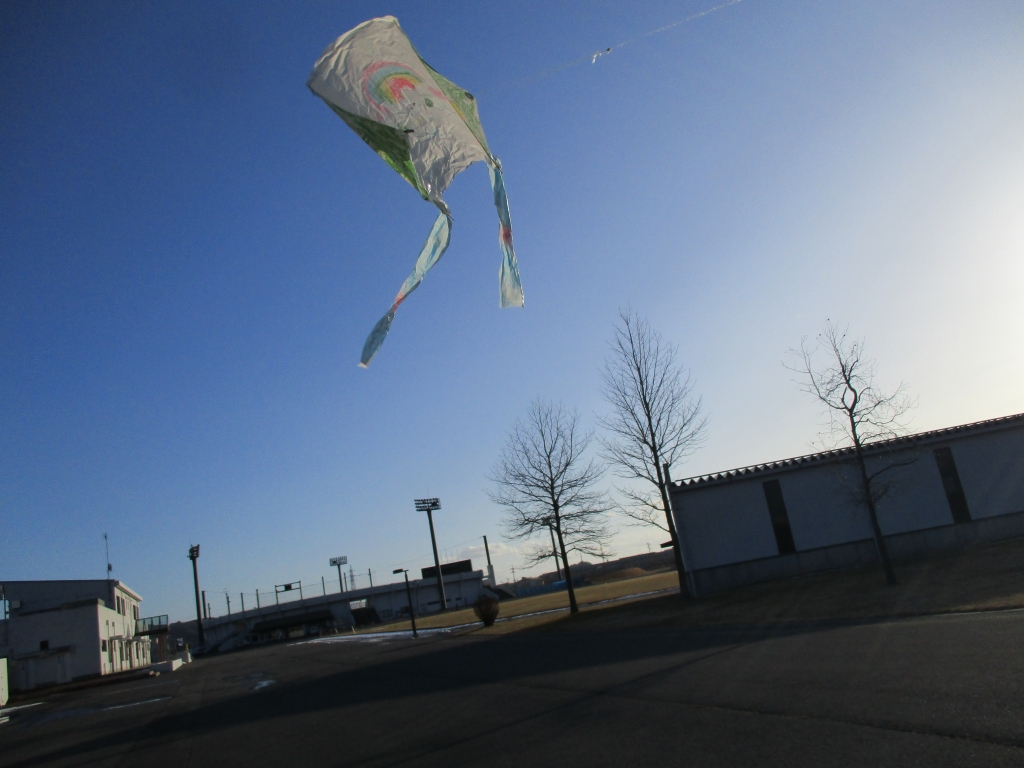 凧上がった