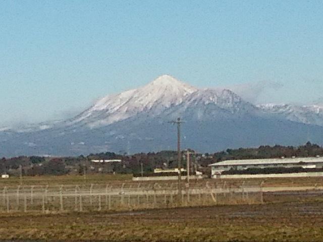 冠雪の霧島山