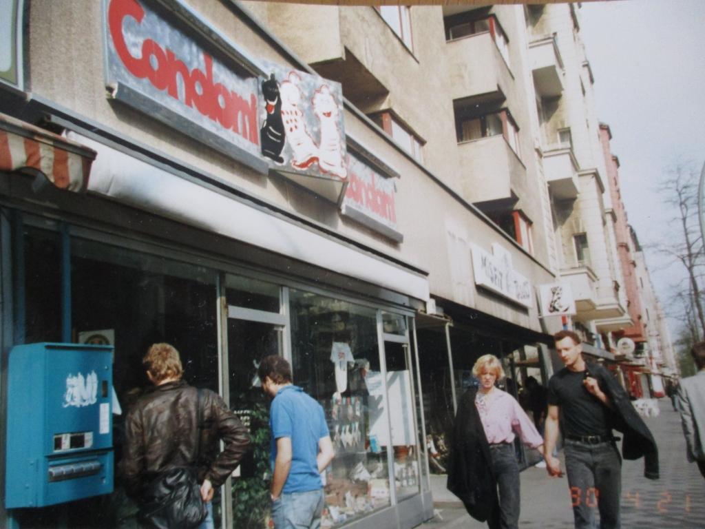 西ベルリンの通り