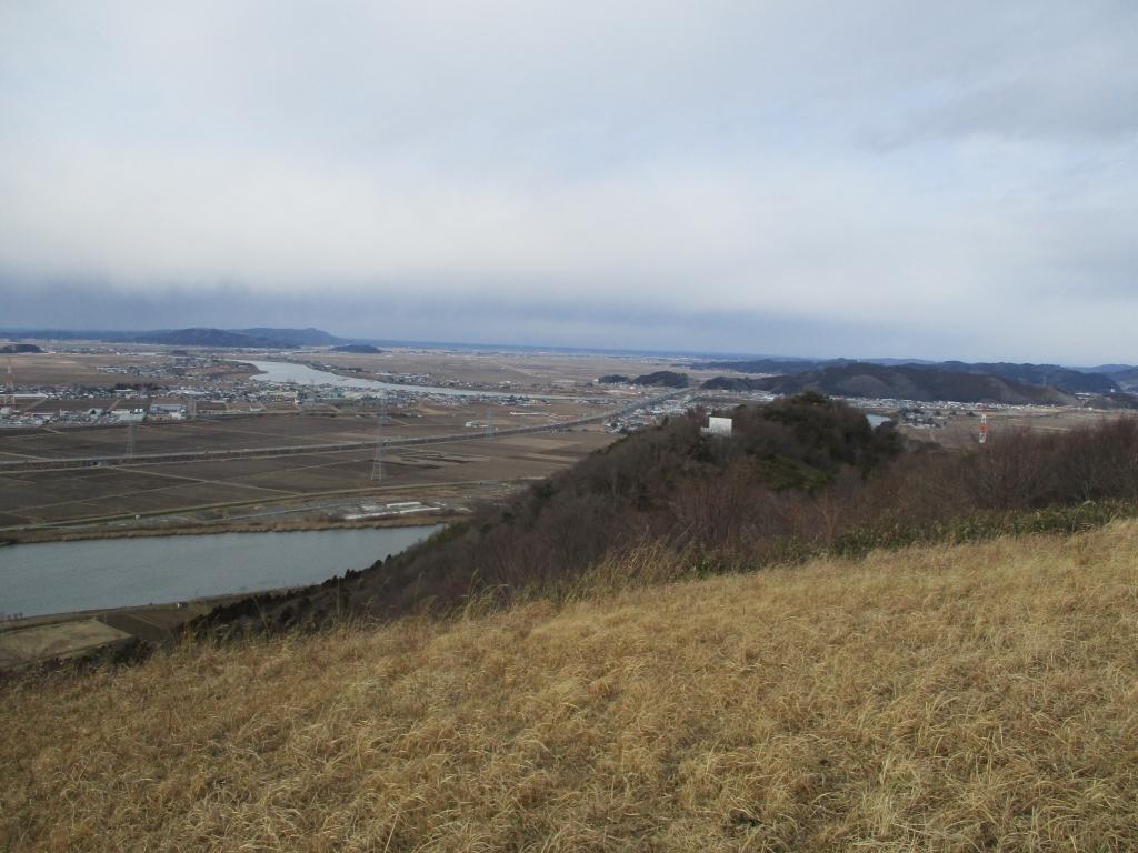 頂上西側遠景
