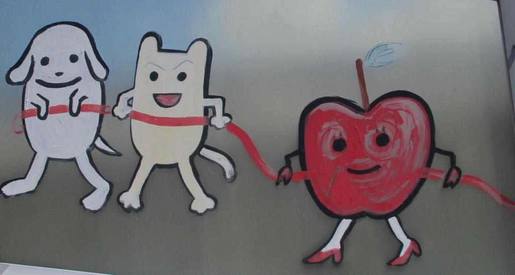 ハイヒールりんご