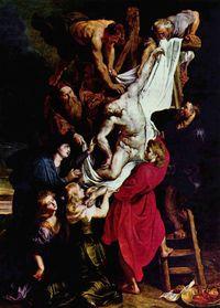 「キリスト降下」アントワープ大聖堂