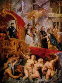 「マリー・ド・メディシスの生涯」パリ、ルーブル美術館蔵