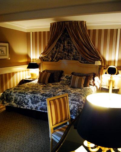 シャトーホテル、ベッドルーム