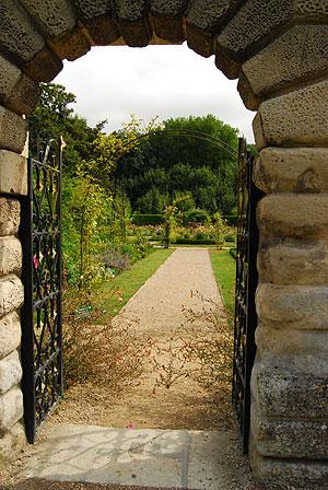 秘密の花園、入り口