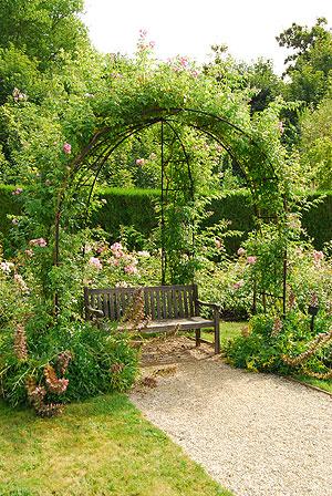 秘密の花園、ベンチ