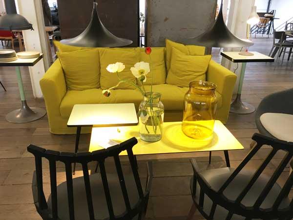 黄色いソファ、11区、バスティーユ、メルシー