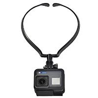 アクションカメラ用ネックマウントホルダー