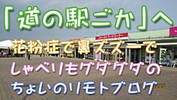 道の駅ごかモトブログ