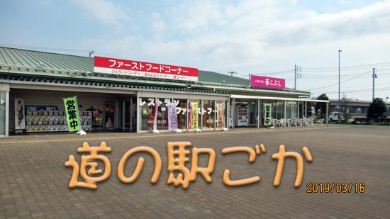 道の駅ごか正面図