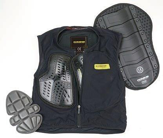 プロテクター03:コミネ 胸部プロテクター CEボディプロテクションインナーベスト