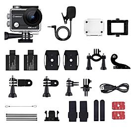 アクションカメラCT8500:豊富な付属品