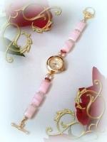 マンガンカルサイト腕時計