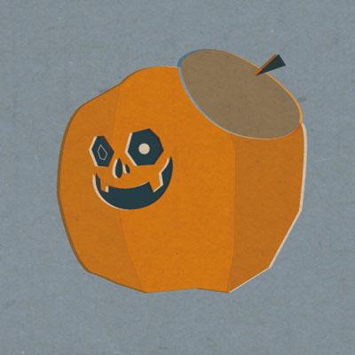 らくがきかぼちゃ